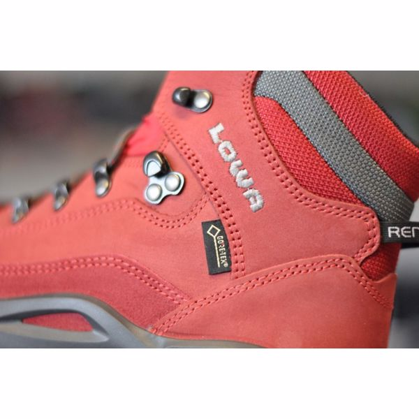 045e767d94dd1 LOWA RENEGADE GTX MID WS Red | VeredaSport.sk