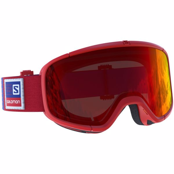461cd1764 SALOMON FOUR SEVEN Red - lyžiarske okuliare   VeredaSport.sk