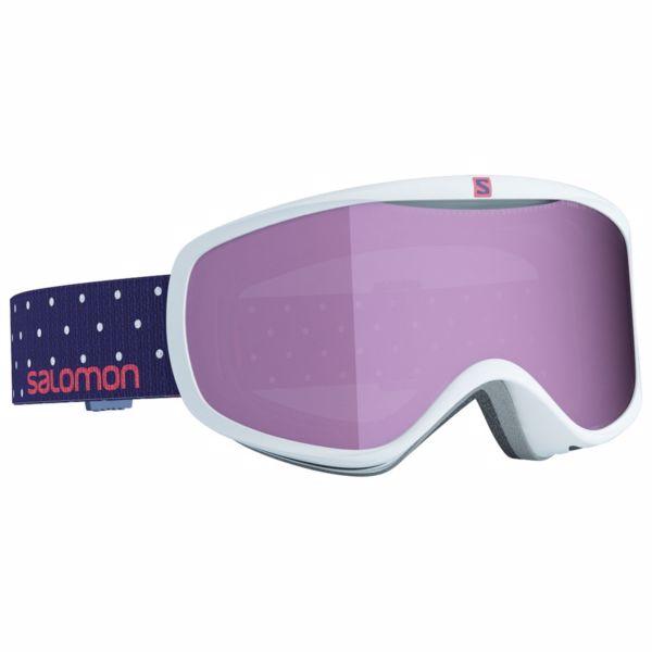 bdde51515 SALOMON SENSE White Polka - lyžiarske okuliare   VeredaSport.sk