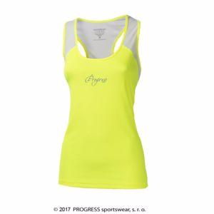 5a8439cc7167b ... TR IMOLA tričko ženy. reflexní žlutá/bílá