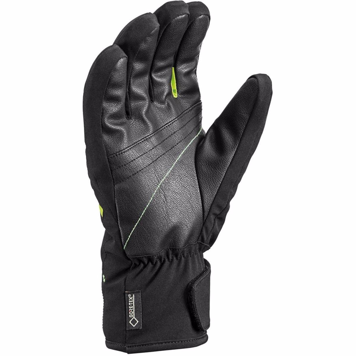 Lyžiarske rukavice LEKI SPACE GTX Black Lime  00dee54e0c0