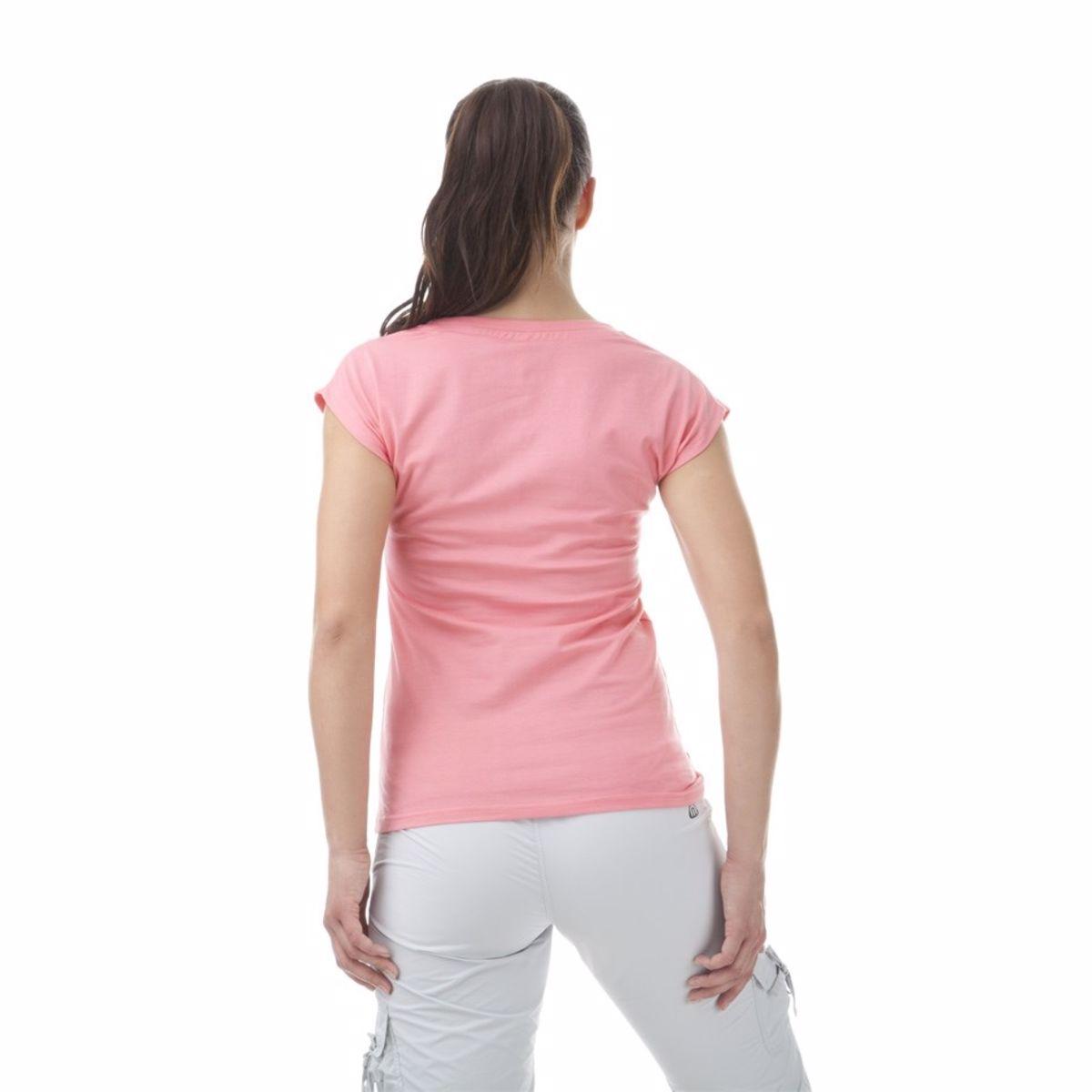 59f9e64c98d1 Dámske tričko NORDBLANC NATIVE s krátkym rukávom a okrúhlym výstrihom.  Tričko je vyrobené z predpraného materiálu s vysokým podielom super  kvalitnej bavlny.