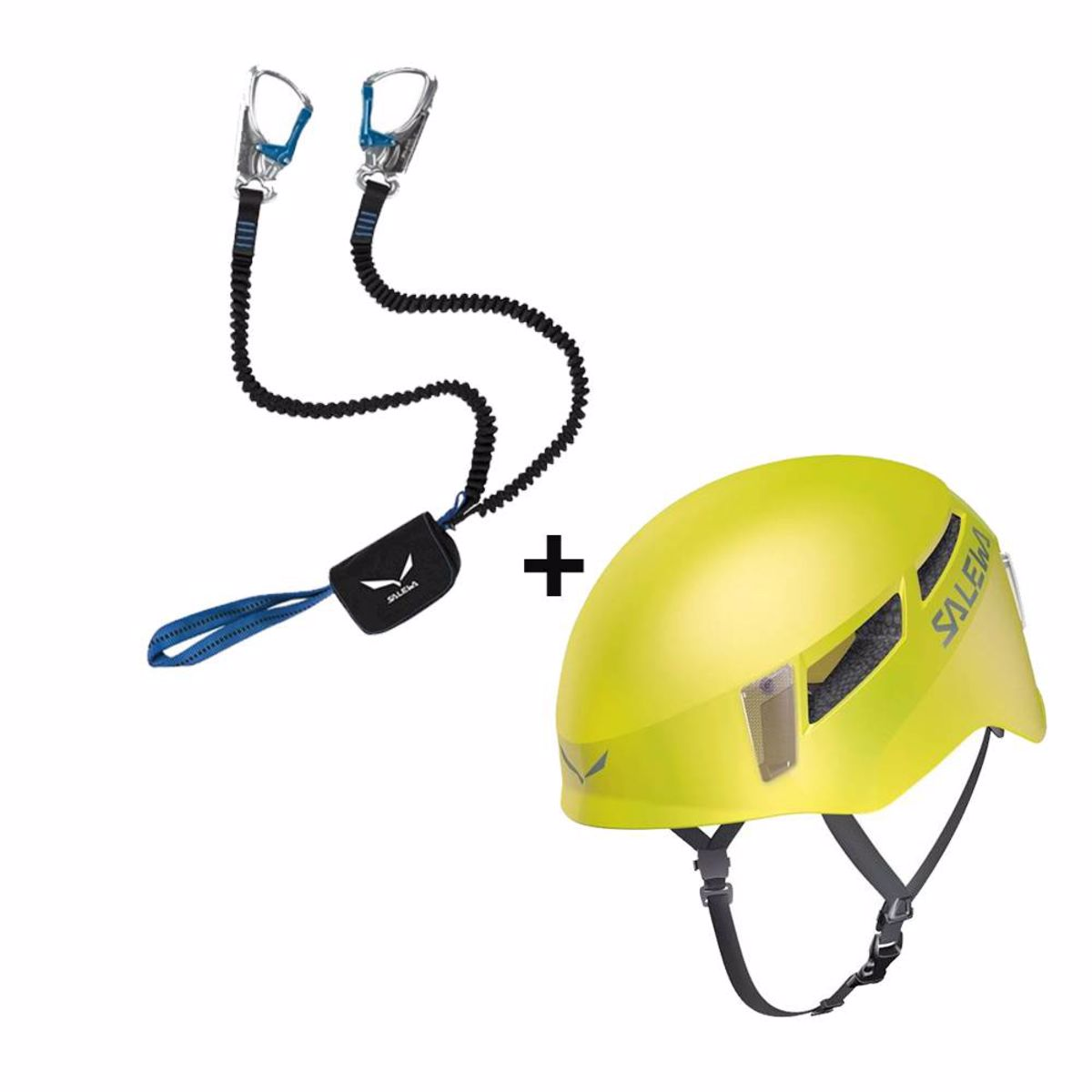SALEWA VIA FERRATA SET PREMIUM ATTAC + prilba salewa Pura 6d3a2b555da